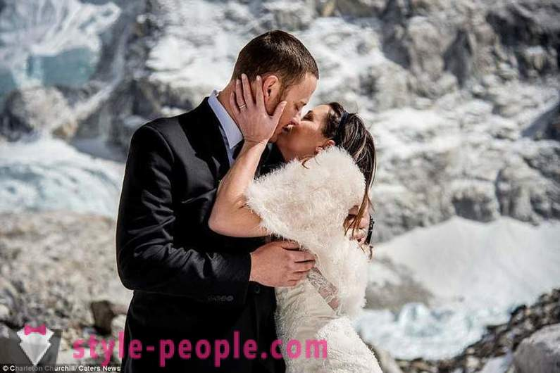 La boda en el Everest